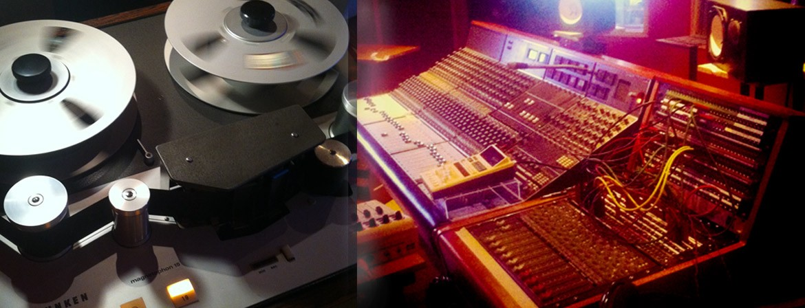 """Neve console and 2"""" tape - lowswing studio"""